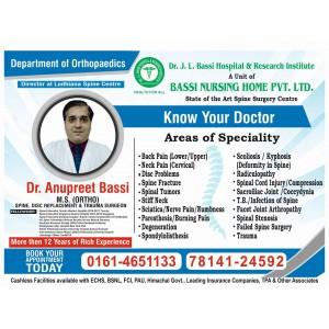 Dr. Anupreet Bassi
